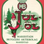 Julöl-etikett
