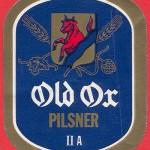 Old Ox Pilsner-etikett