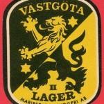 Västgöta lager-etikett