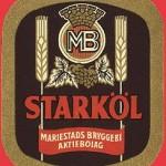 Starköl-etikett